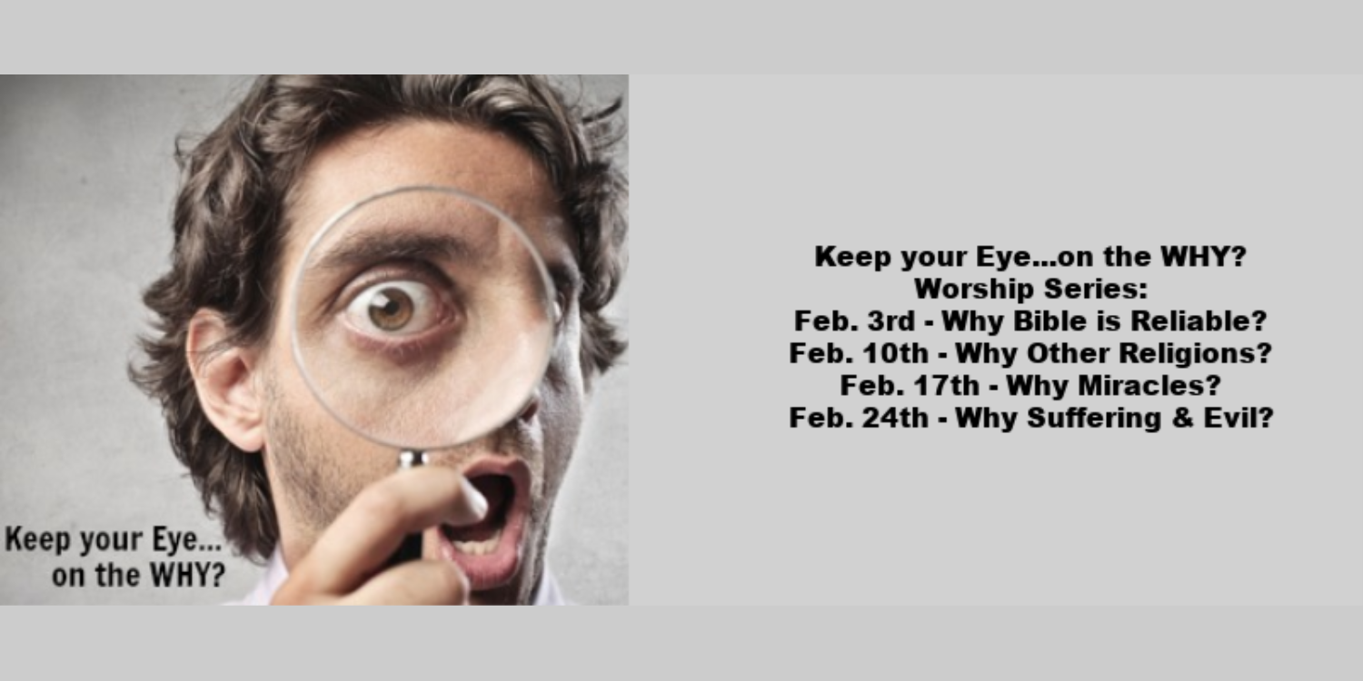Eye On The Why Feb.  Andover UMC