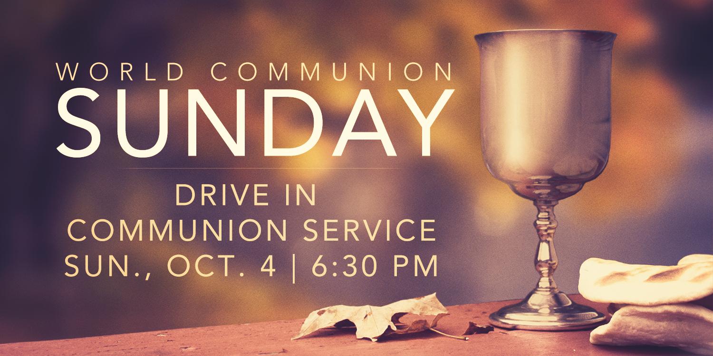 Andover UMC World Communion Sunday Oct. 4, 2020